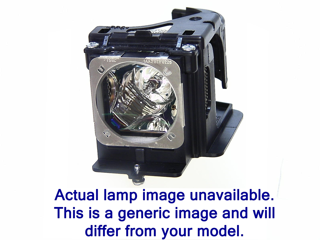 Original  Lámpara For HITACHI PJ-LC9 Proyector.